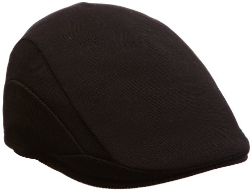 Kangol Men's Tropic 507 Hat - (Kangol Black Hat)