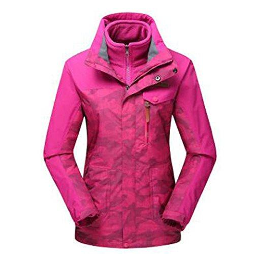 Tripla Camouflage E Mountain Calda Donna Traspirante Wear Felpa Wu Impermeabile Outdoor Lai Rosered Giacche p6Yzqx8tw