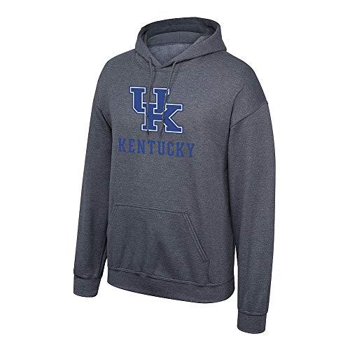 Elite Fan Shop NCAA Men's Kentucky Wildcats Hoodie Sweatshirt Dark Heather Icon Kentucky Wildcats Dark Heather Large (Uk Wildcats Womens Sweatshirt)