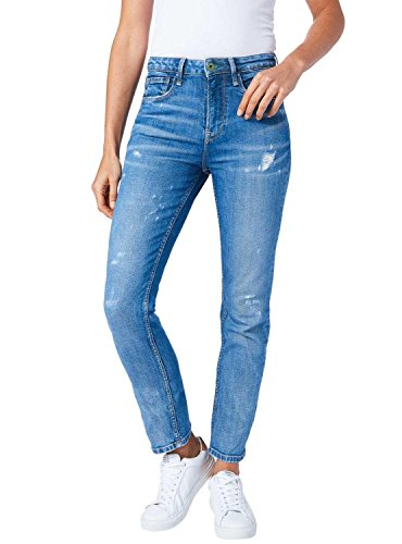 Azul Vaqueros Jeans Mary Pepe Mujer Negro U0I5wqwx