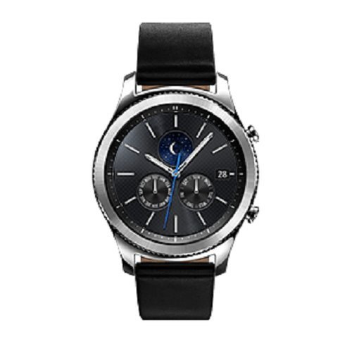Samsung Gear S3 Classic Smartwatch, Silver, GPS, IP68 [Versione Italiana]