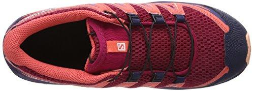 Salomon Rouge peach Mixte Xa De J 3d cerise Amber dubarry Trail Enfant Chaussures Pro r7rwzqF
