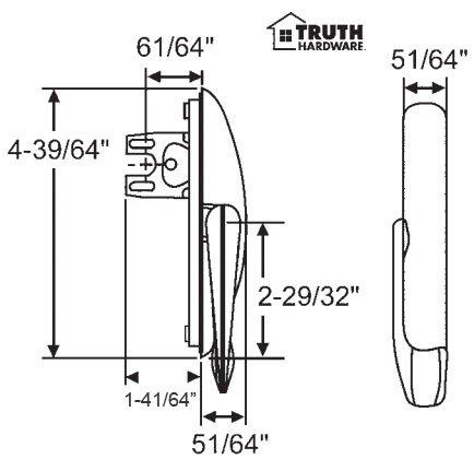 Maxim Multi Point Casement Lock White product image