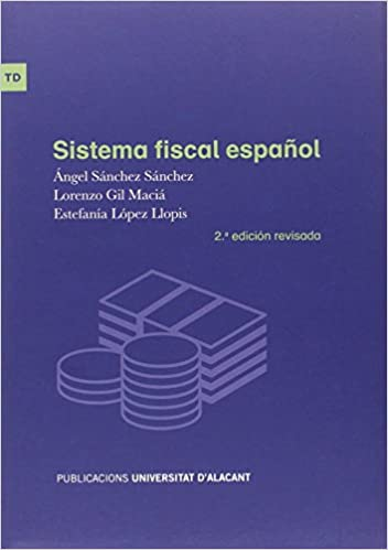 Epub Gratis Sistema Fiscal Español (2ª Edición - 2016)