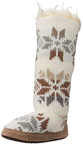 Mukluks Women's Ivory Maleah Winter White Slouch Boot - I...