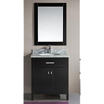 Design Element Dec076e London 30 Inch Single Sink Vanity