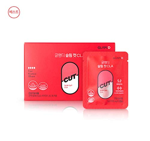 GLAM.D Slim Cut CLA 500mg X 60capsule (30g) Made in Korea Weight Loss, Health by GLAM.D (Image #8)