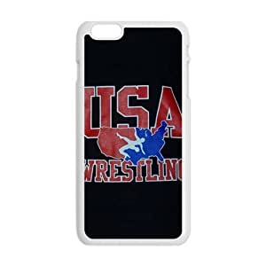 Happy USA Wrestling Logo Cell Phone Case for Iphone 6 Plus