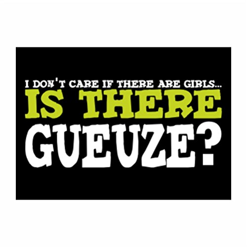 teeburon-i-dont-care-if-there-are-girls-is-there-gueuze-pack-of-4-stickers