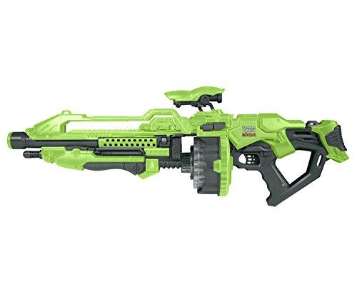 World Tech Toys Prime Motorized Dart Blaster Warriors, Glow in The Dark, 31 x 6.5 x 11