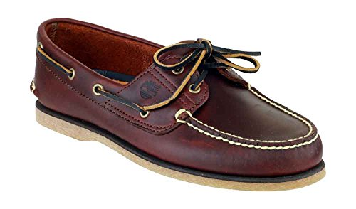 Timberland TB074035214 : Men's Classic Two-Eyelet Rubber-Sole Boat Shoe (10.5 D(M) US)