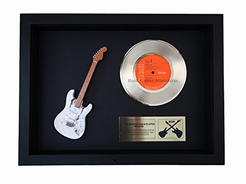 (RGM1386 David Bowie - Hunky Dory Gold Disc - 24 Carat Gold Plated 7