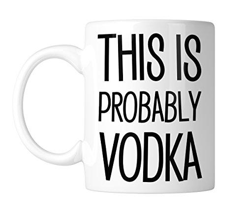 (This Is Probably Vodka 11 oz. Mug (1 Mug))