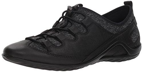 White Toggle Vibration Women's ECCO Black II Sneaker Black qpZCwaSn