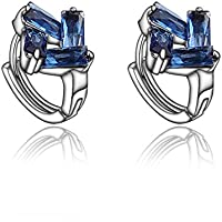 Multicolor Earrings Micro Inlay Cubic Zirconia Hoop Earring For Women