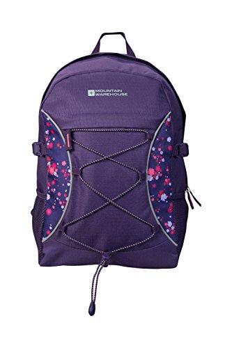 Mountain Warehouse Bolt 18 Litre Backpack - Summer Travel Rucksack Coral
