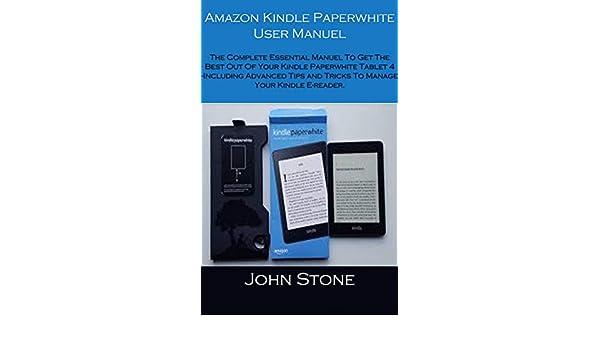 Amazon com: Amazon Kindle Paperwhite User Manuel: The