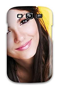 New BBFeTBX11953RWWaC Victoria Justice Skin Case Cover Shatterproof Case For Galaxy S3