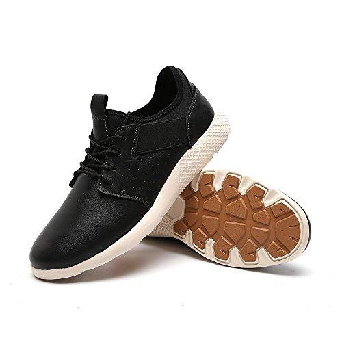 Walking Running Mesh Shoes Casual Athletic Gym Men Sneakers 7036 Black Fashion Breathable 1 wgUB8