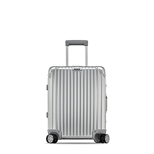 Rimowa Topas IATA Carry on Luggage 20″Inch Cabin Multiwheel 32L Suitcase Silver