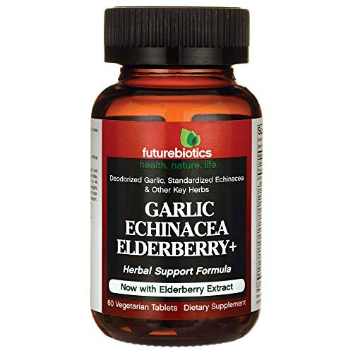 Futurebiotics Garlic Echinacea Goldenseal Plus -- 60 Tablets - Futurebiotics Garlic Echinacea