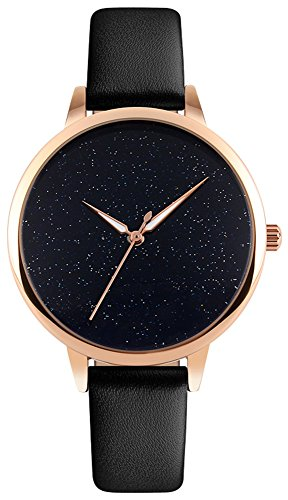 Star Womens Leather Watch - 2
