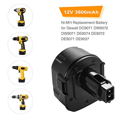 Buy replacement battery for dewalt 12v drill