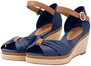 1da58326ee6 Shopping Blue - 2 Stars & Up - Platforms & Wedges - Sandals - Shoes ...