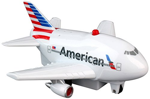 (Daron American Pullback Plane with Light and Sound - styles and colors may vary)