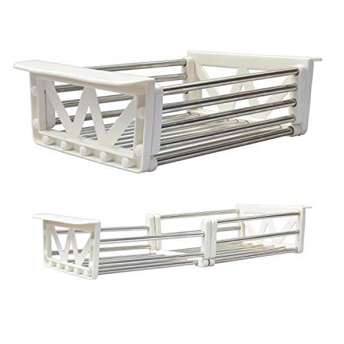 Xintan Tiger Sink Colander Tableware Drying Rack Telescopic