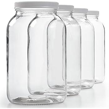Amazoncom Arkansas Glass 1gkj 1 Gallon Glass Widemouth Jar