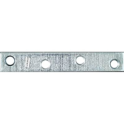 "National / Stanley Hardware 22010387 Mending Plate 4"" X 5/8"" - Zinc"