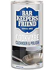 Bar Keepers Friend 11533 Cookware Powder Cleanser and Polish 12-Ounce