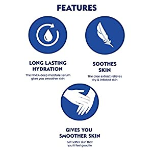 NIVEA Body Lotion, Aloe Hydration, For Normal Skin, 400ml And NIVEA Body Lotion, Express Hydration, For Normal Skin, 400…
