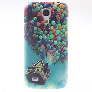 LIMME ships in 48 hours Colorful Balloons Pattern PC Hard Case with Black Frame for Samsung Galaxy S4 mini I9190