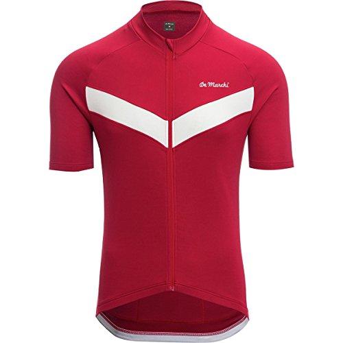 (De Marchi Classica Short-Sleeve Jersey - Men's Red, M)
