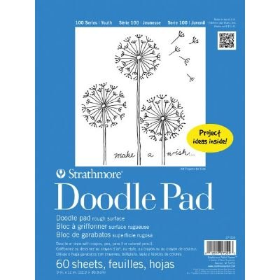 6 Pack 9'' x 12'' Tape Bound Doodle Pad (Product Catalog: Paper Media, Canvas & Surfaces)