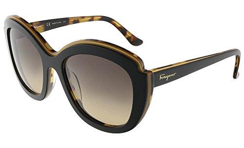 salvatore-ferragamo-womens-colorblock-sunglasses-black-havana-one-size