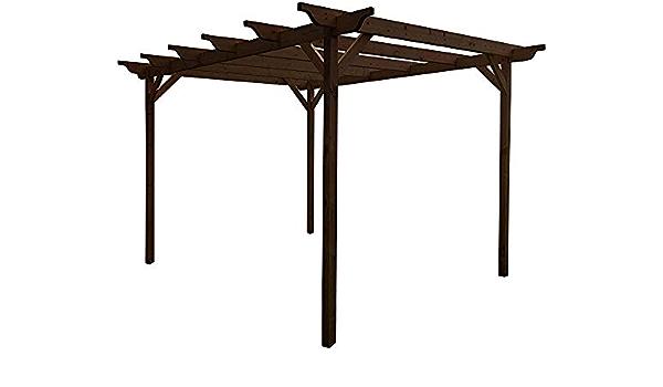Talladas kits del gazebo gazebo de jardín de madera pérgola ...
