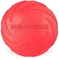 Chien frisbee, caoutchouc naturel pure sécurité non toxique des jouets interactifs de formation.