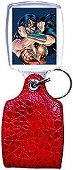 Schlüsselanhänger rot Wonder Woman 2