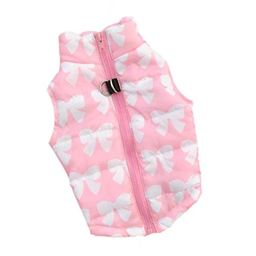 pink padded dog harness - 5