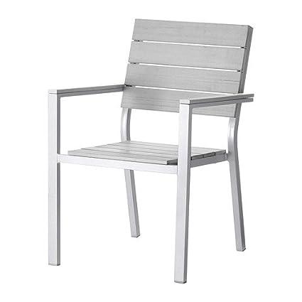 Armlehnen Stuhl mit Ikea FALSTER grauKüche 54RLj3Aq