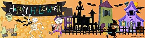 Happy Halloween Landscape Bookmarker