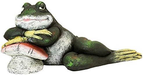 Design Toscano FU84289 Bert The Flirtatious Frog Garden Toad Statue