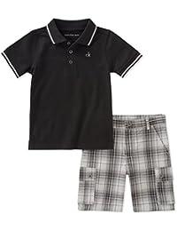 Boys' 2 Pieces Polo Shorts Set