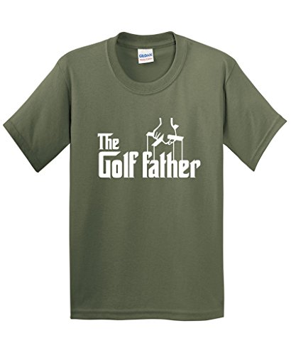 The Golf Father Golfers Fathers Day Gift for Dad T-Shirt XL Military