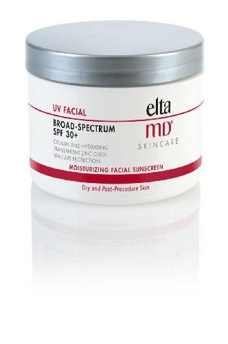 EltaMD UV Facial Sunscreen Broad-Spectrum SPF 30+, Moisturizing, Dermatologist-Recommended Mineral-Based Zinc Oxide Formula, 4.0 oz
