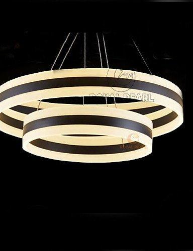DXZMBDM® 170W Zeitgenössisch LED Andere Acryl PendelleuchtenWohnzimmer / Schlafzimmer / Esszimmer / Studierzimmer/Büro / Kinderzimmer / Spielraum , white-90-240v