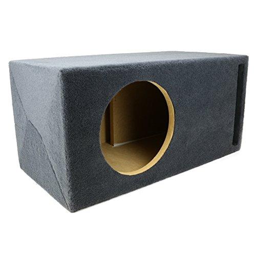 """1.25 ft^3 Ported MDF Sub Woofer Enclosure for Single JL Audio 10"""" W3v3 (10W3v3) Car Subwoofer - 3/4"""" Premium MDF Construction - Made in U.S.A."""